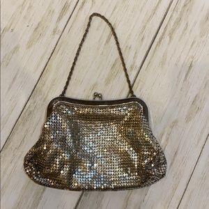 Vintage whiting & Davis mesh clutch bag